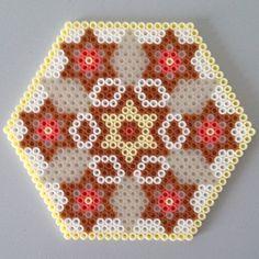 Mandala hama perler beads by cgerdt