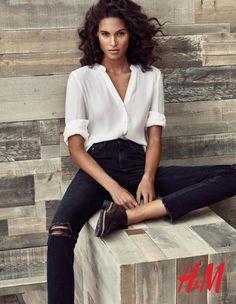 Cindy Bruna For H&M Fall-Winter 2016 Ad Campaign (2)