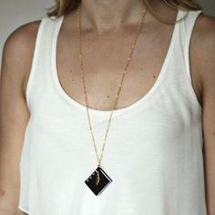 Wind Book Necklace now featured on Fab.