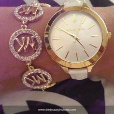 Who want's this <3 <3 <3 Michael Kors watch? Women accessories at www.thebeautyinsiders.com