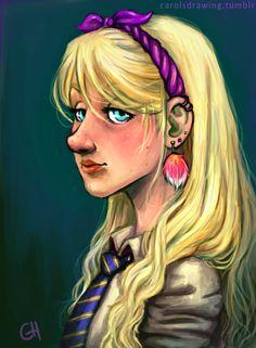 Luna portrait by anacaarol.deviantart.com on @DeviantArt