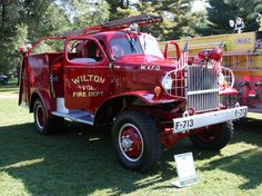 Wilton Volunteer Fire Department, Fire Truck Source & Location, Unknown Website Unobtainable, Anyone Help With Which USA State? Fire Dept, Fire Department, Ambulance, Cool Trucks, Fire Trucks, Cool Fire, Fire Fire, Brush Truck, Fire Equipment