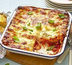 Bbc food recipes chicken pasta bake saturday night pasta classic lasagne forumfinder Choice Image