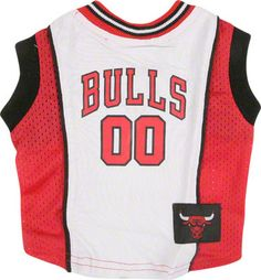 Chicago Bulls Dog Jersey    $19.99