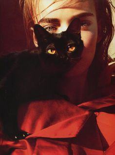 """Incantation"". Nimue Smit by Txema Yeste for Numero China #17 April 2012"