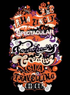 Ahoy There Traveling Circus Typography Fonts, Hand Lettering, Collective Nouns, Illustrators, Grillz, Cursive, Type, Traveling, Calligraphy