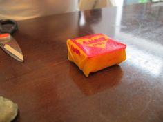 Primeiro teste da paçoca amor para o prato ''tabuleiro''