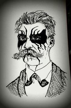 Nietzsche black metal. Someone was KRIEG before you.