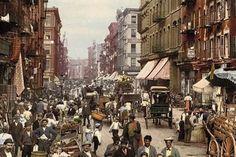 Les premières photos couleurs des Etats-Unis en 1888 !