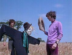 Syd Barrett and Nick Mason of Pink Floyd - Scarecrow Promo Film, UK, July 1967