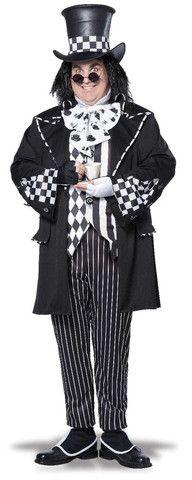 Dark Mad Hatter Adult Plus Size Costume