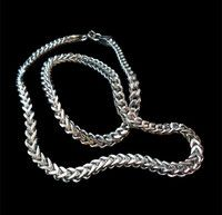 New Listing Started Stainless Steel Box Pole Chain Necklace NZ$36.00