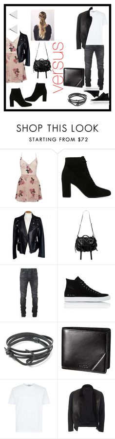 """""""# date mode... """"if i had a bf"""""""" by theedesigndiva ❤ liked on Polyvore featuring Lipsy, Yves Saint Laurent, Alexander McQueen, Natalia Brilli, Balmain, Common Projects, MIANSAI, Gucci and Jennifer Meyer Jewelry"""