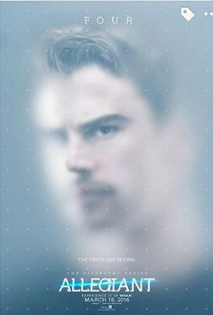 Shailene Woodley Is Trapped In New 'Allegiant' Poster - See It Here!: Photo Tris (Shailene Woodley) is trapped in the brand new poster for The Divergent Series: Allegiant Part The brand new posters also feature Four (Theo James) who… Divergent Four, Tris And Four, Divergent Fandom, Divergent Trilogy, Theo James, Theodore James, Die Bestimmung Allegiant, Divergent Insurgent Allegiant, Insurgent Quotes
