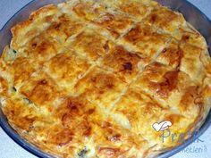 Sodalı Börek Food And Drink, Pizza, Bread, Cheese, Desserts, Tailgate Desserts, Deserts, Brot, Postres
