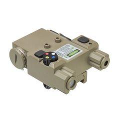 NcStar Green Laser 4X LED Nav Light Box/QR Mount