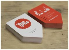 Love these business cards, and their color of course!