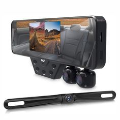 Car Rear View Mirror, Car Mirror, Mirror Camera, Car Camera, Backup Camera, Wrangler Accessories, Car Accessories, Mirror Replacement, Plate Camera