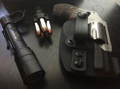 Smith & Wesson J frame IWB minimalist kydex holster