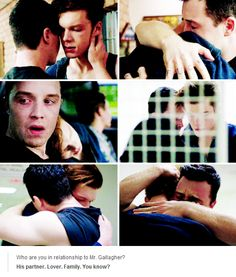 Cried. So. Hard. During this episode. Shameless.