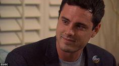 In love? Ben said he felt 'lucky' to have met Lauren B...