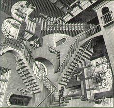 Escher Relativity Wallpaper Escher relativity wallpaper