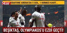 #Beşiktaş, UEFA Avrupa Ligi'nde çeyrek finalde!: #Beşiktaş, 1-1'in rövanşında Olympiakos'u Vodafone Arena'da 4-1 yenerek UEFA Avrupa Ligi'nde çeyrek finale yükseldi.