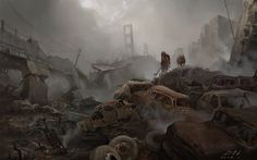 ArtStation - The end of the world, Huang Deng