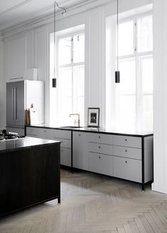 Only Deco Love: Nordic Grey kitchen by KBH