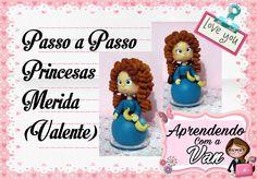 (DIY) PASSO A PASSO PRINCESAS MERIDA (VALENTE)