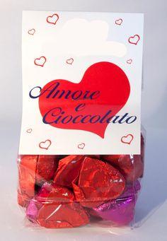 heart-shape chocolate praline