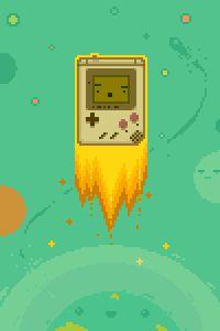 Pixel Gameboy Videogames, Mundo Dos Games, Pixel Animation, V Games, 8 Bit, Pokemon, Pixel Art, Cute Art, Art Reference
