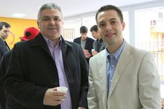 O Diretor Presidente da WBI Brasil, Paulo Kendzerski, acompanhado do Gerente Comercial, Marcius Saldanha, estiveram presentes ao Evento Café COM Lojistas do Sindilojas, sobre as novas regras do e-commerce, realizado na manhã desta quarta-feira.