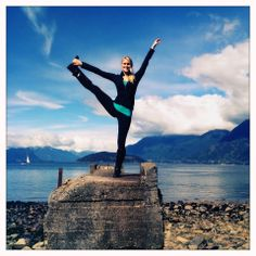 From a The Bar Method Vancouver / The Bar Method West Vancouver instructor! You can take many of your Bar Method moves anywhere!! #WhereDoYouBar? #barmethod #exercise #fitness #travel