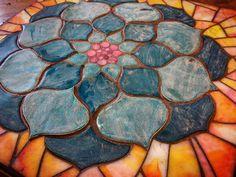 Mosaic Art, Mosaic Glass, Mosaics, Stained Glass, Glass Art, Patio Bar, Painting, Outdoor Patio Bar, Painting Art