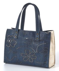 Look at this Blue Micho Tote on #zulily today!