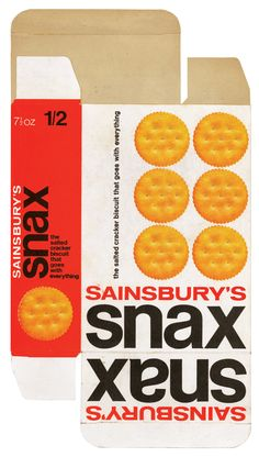 Sainsbury's Snax Crackers.