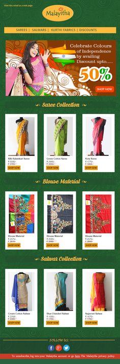 Emailer Design for Malayitha
