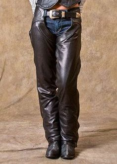 Biker Apparel Women S Chaps Brown Leather With Brown