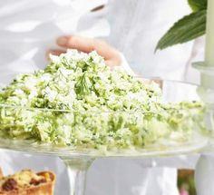 Zucchini-Feta-Salat