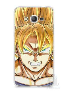 Capa Samsung Gran Prime Dragon Ball Z Gohan SSJ2 - SmartCases - Acessórios para celulares e tablets :)