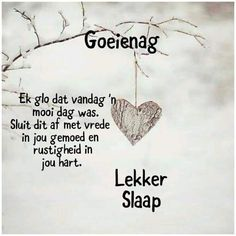 Good Morning My Friend, Evening Prayer, Good Night Blessings, Afrikaans Quotes, Good Night Quotes, Sleep Tight, Qoutes, Prayers, Bible