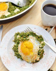 Egg Spinach Quinoa Breakfast