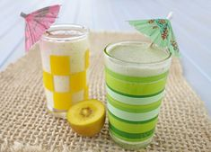 Learn to make a Kiwi Lassi recipe using your KitchenAid blender. Healthy Meals For Kids, Healthy Drinks, Kids Meals, Healthy Food, Kitchenaid Blender, Kitchenaid Artisan, Egg Recipes For Breakfast, Breakfast Smoothies, Refreshing Drinks
