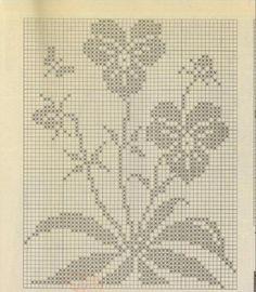 """Schemes """"Flowers and Butterflies"""""""