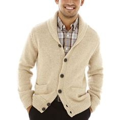 Dockers® Shawl-Collar Cardigan Sweater  found at @JCPenney