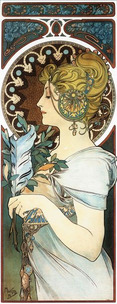 Alfons Mucha's Art Nouveau works | DVDbash