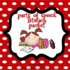 Parts of Speech Literacy Center Mini Packet*Noun Word Sort (Person, Place or Thing)* Noun and Verb Word Sort*Noun, Verb,  and Adjective Word So...$