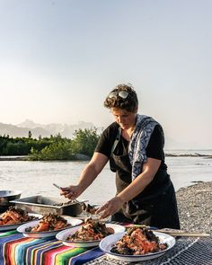 Discover a unique dining experience by the Copper River in Alaska.#farmtotable Outdoor Dinner Parties, Human Connection, Rustic Outdoor, Fresco, Alaska, Copper, River, Dining, Unique