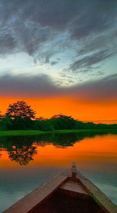 Imagem do rio Amazonas no Brasil